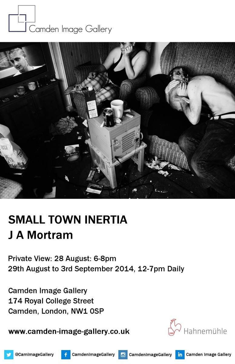 Jim Mortram Private View Invitation